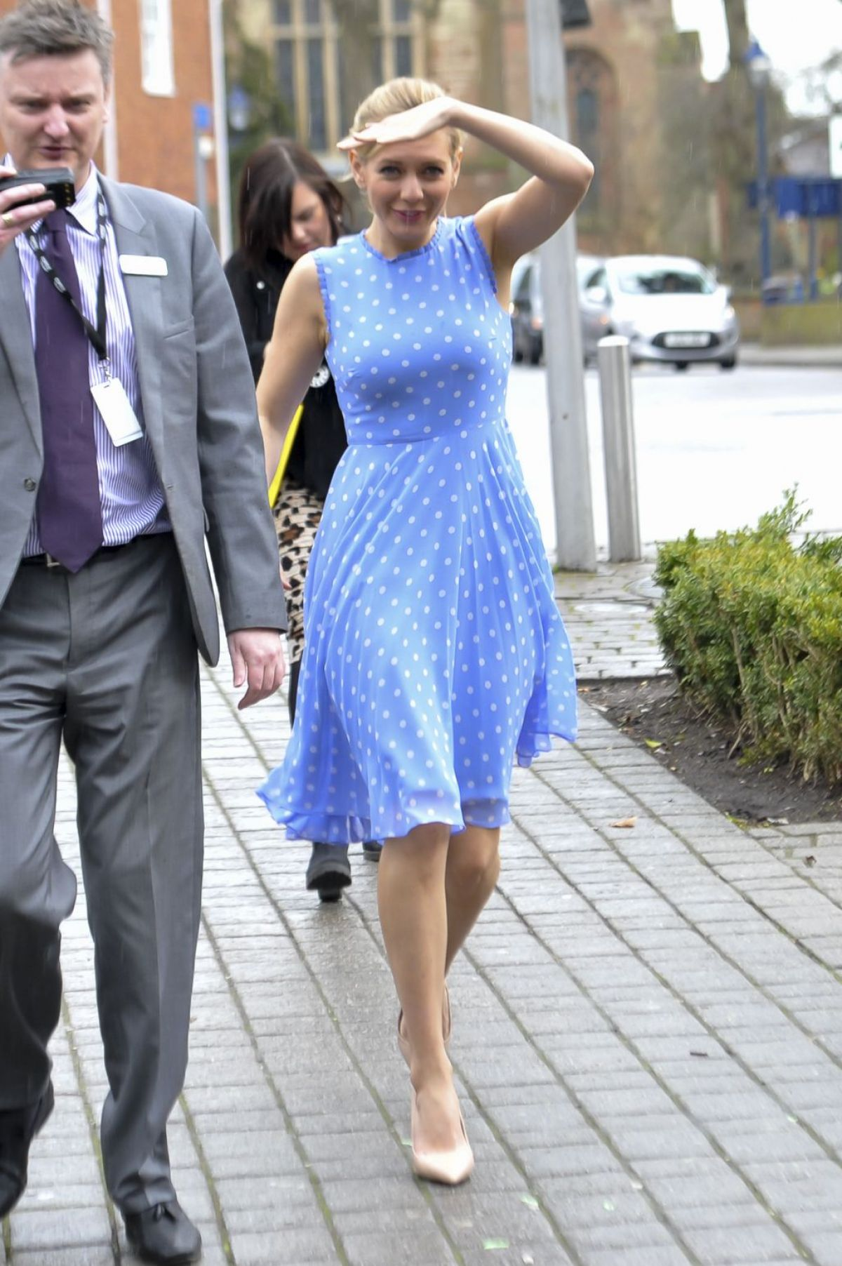 Rachel Riley At Top Swap Clothing Drive At Touchwood 11 Hawtcelebs