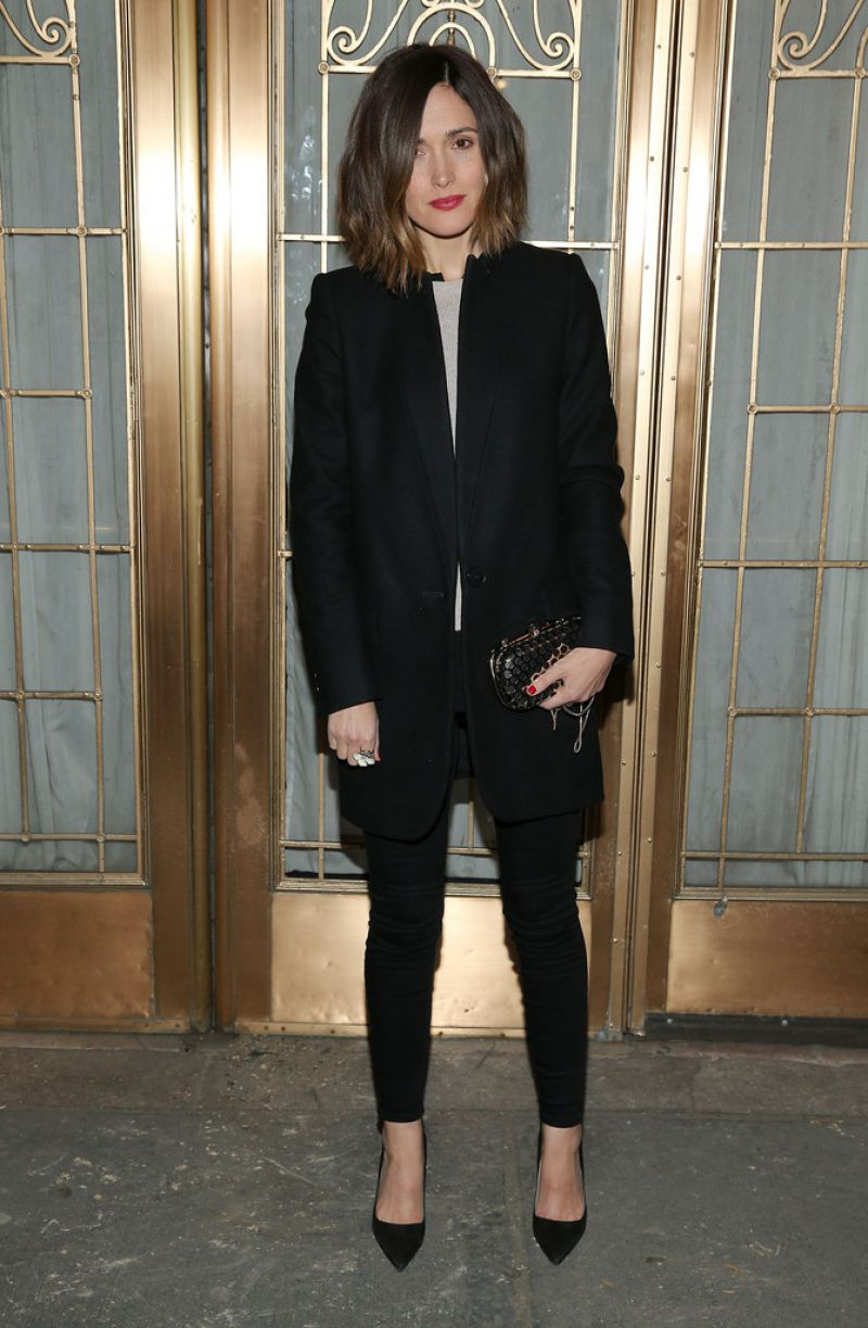 ROSE BYRNE at The Heidi Chronicles Broadway Opening Night