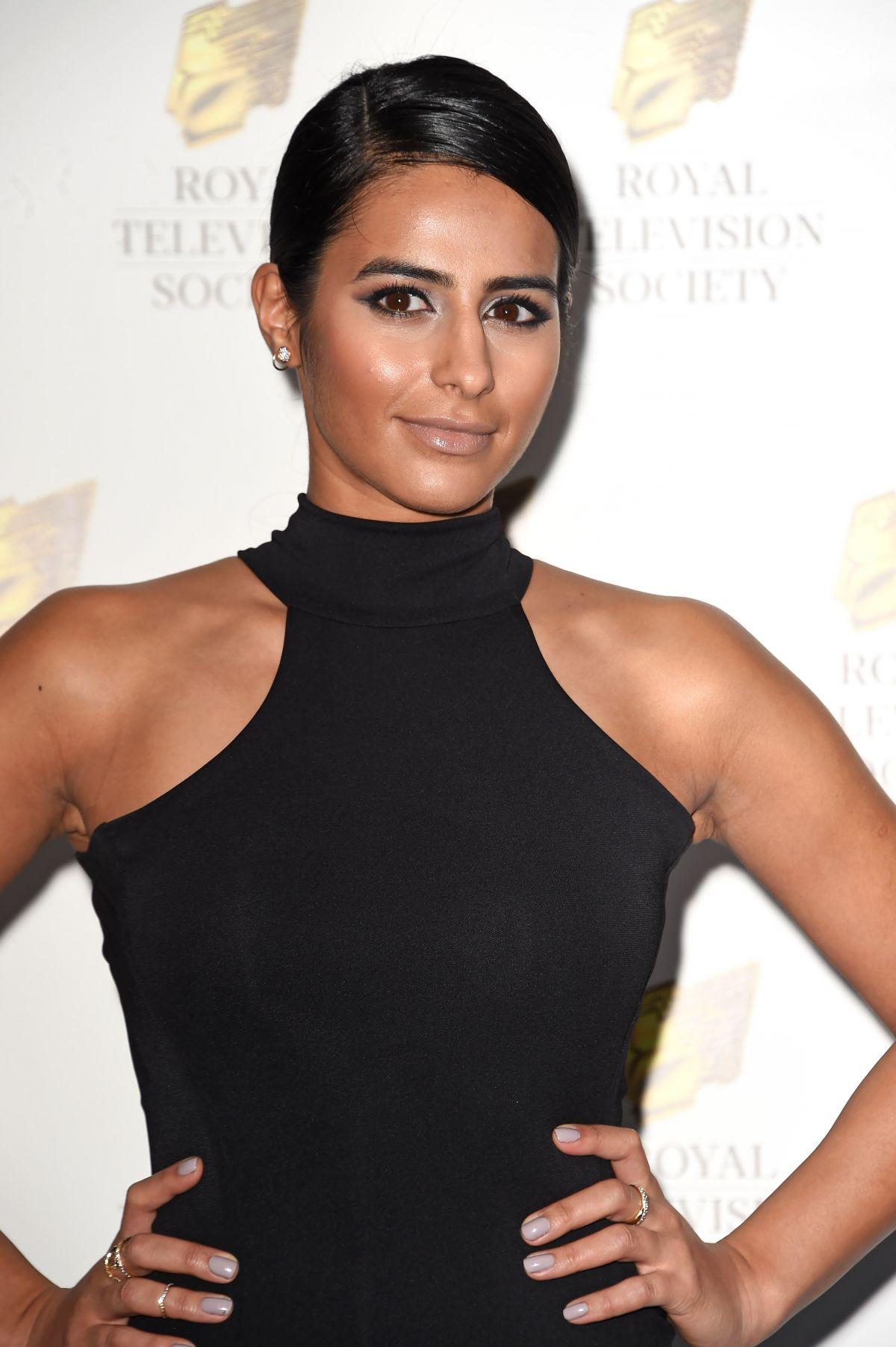 SAIRA KHAN at Royal Television Society Programme Awards in London