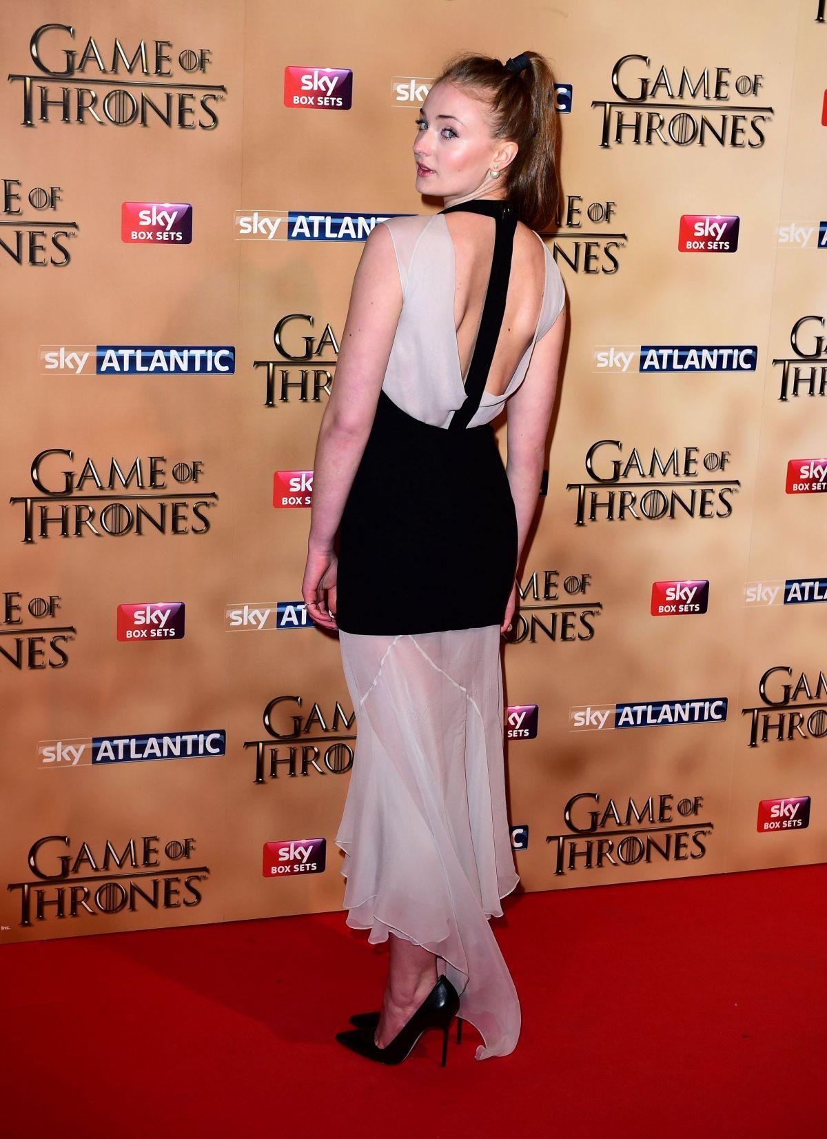 Sophie Turner - Game of Thrones Season 5 San Francisco