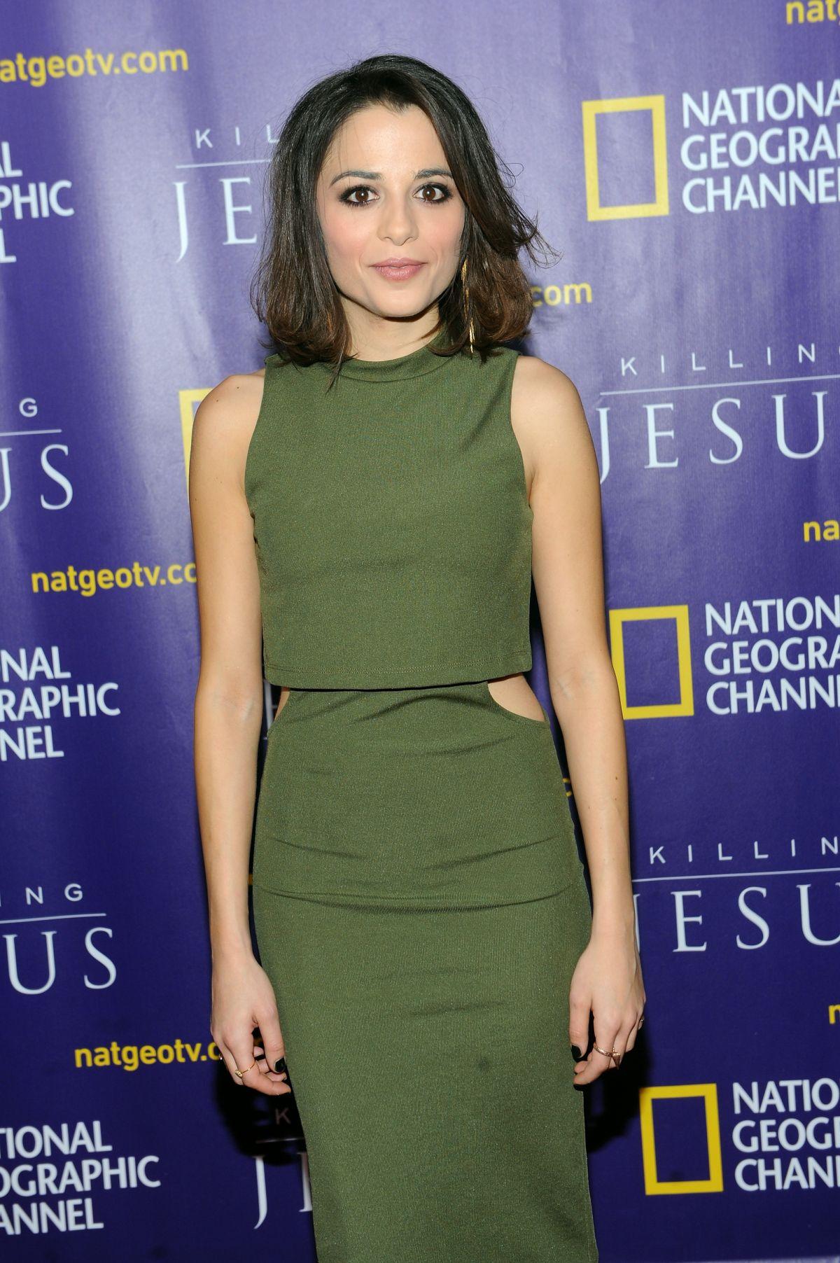 STEPHANIE LEONIDAS at Killing Jesus Premiere in New York