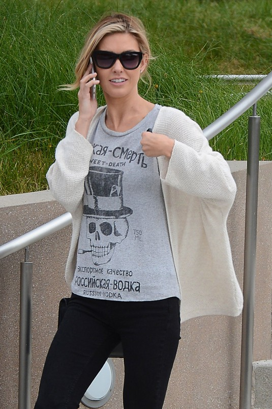 AUDRINA PATRIDGE Leaves Playboy Office in Beverly Hills