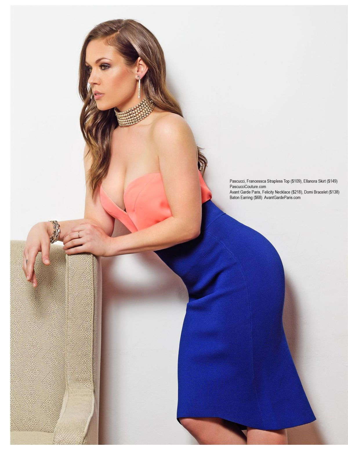 AGNES BRUCKNER in Regard Magazine, April 2015 Issue
