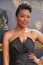 AISHA TYLER at 2015 Daytime Emmy Awards in Burbank