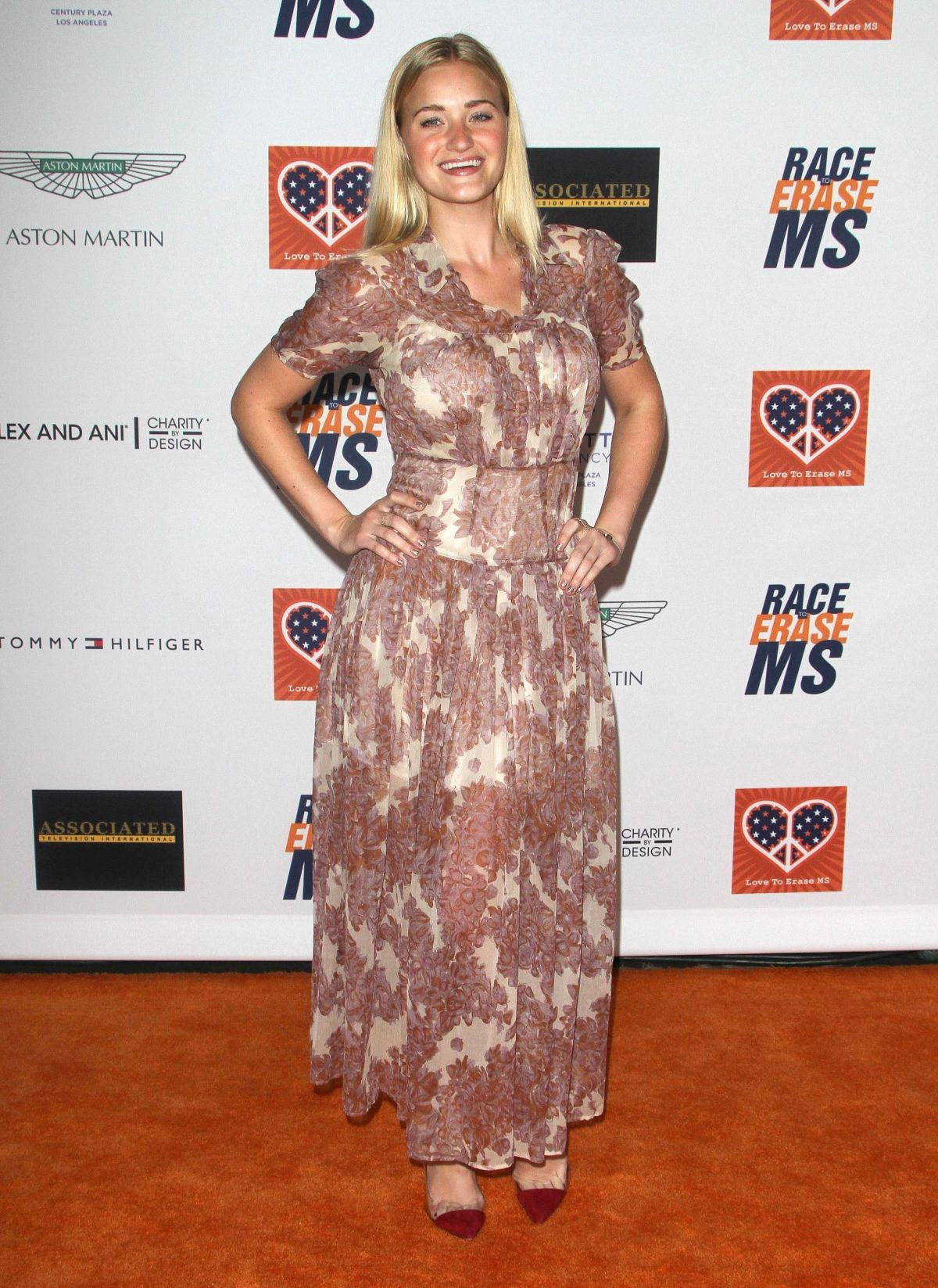 AJ ICHALKA at 2015 Race to Erase MS Event in Century City