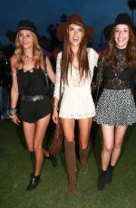 ALESSANDRA AMBROSIO at 2015 Coachella Music Festival, Day 1