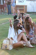 ALESSANDRA AMBROSIO at 2015 Coachella Music Festival, Day 2