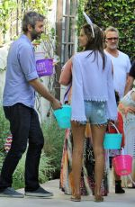 ALESSANDRA AMBROSIO at An Easter Party in Brentwood
