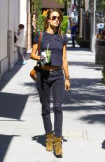 ALESSANDRA AMBROSIO Out and About in Beverly Hills