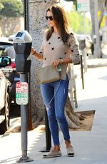 ALESSANDRA AMBROSIO Out for Coffee in Brentwood 04/20/2015