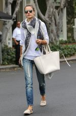 ALESSANDRA AMBROSIO Out in West Hollywood 04/22/2015