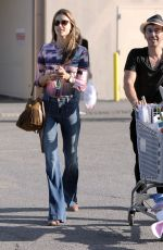 ALESSANDRA AMBROSIO Out Shoppin in Santa Monica