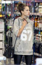 ALESSANDRA AMBROSIO Out Shopping in Santa Monica