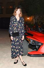ALEXA CHUNG at Jeremy Scott and Moschino's the Coolest Party