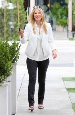ALI LARTER Out for Lunch in West Hollywood