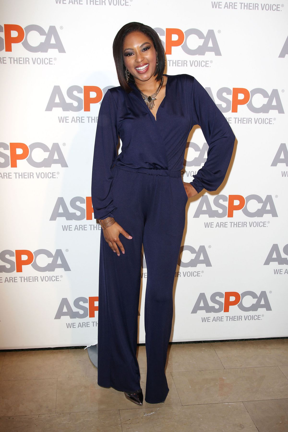 ALICIA QUARLES at Aspca Hosts 18th Annual Bergh Ball in New York