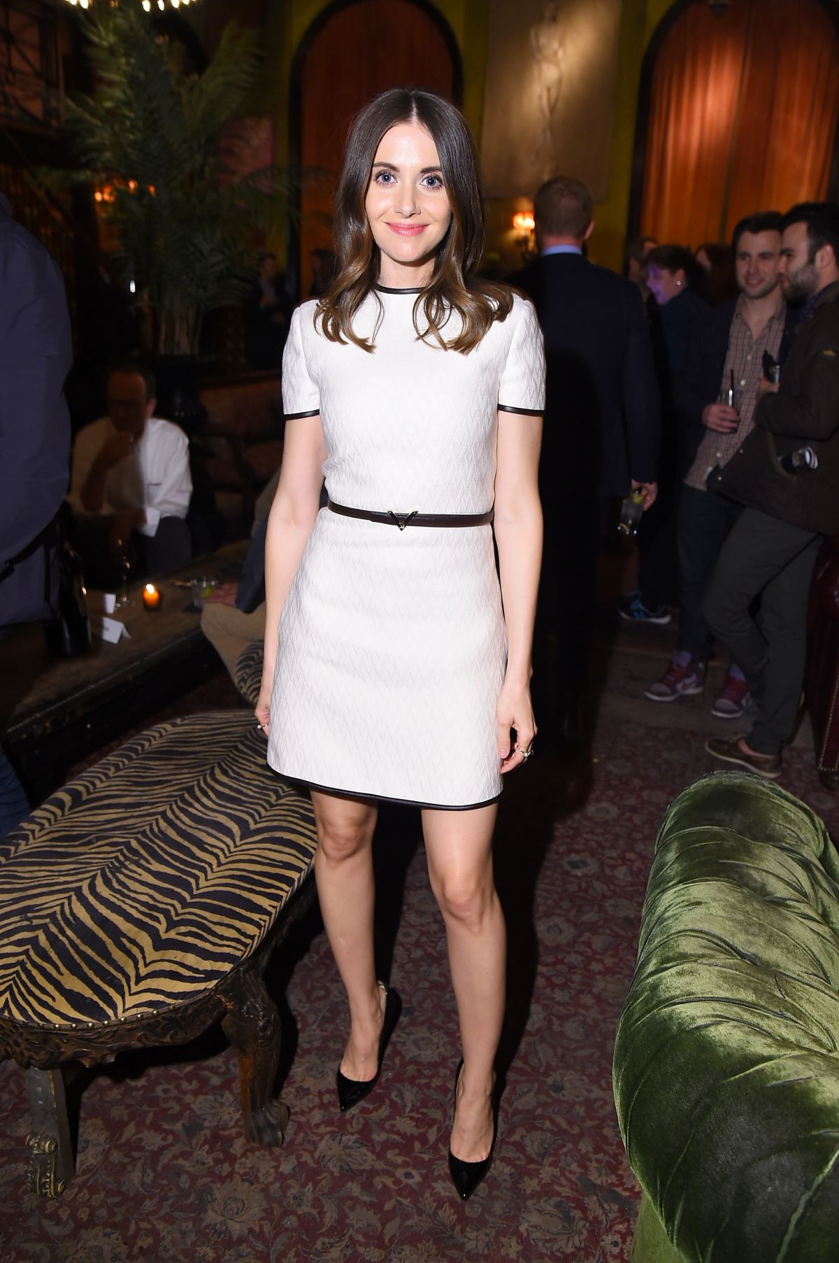 ALISON BRIE at Sleeping with Other People Premiere After Party in New York