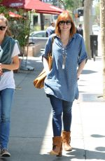 ALYSON HANNIGAN Out and About in Santa Monica