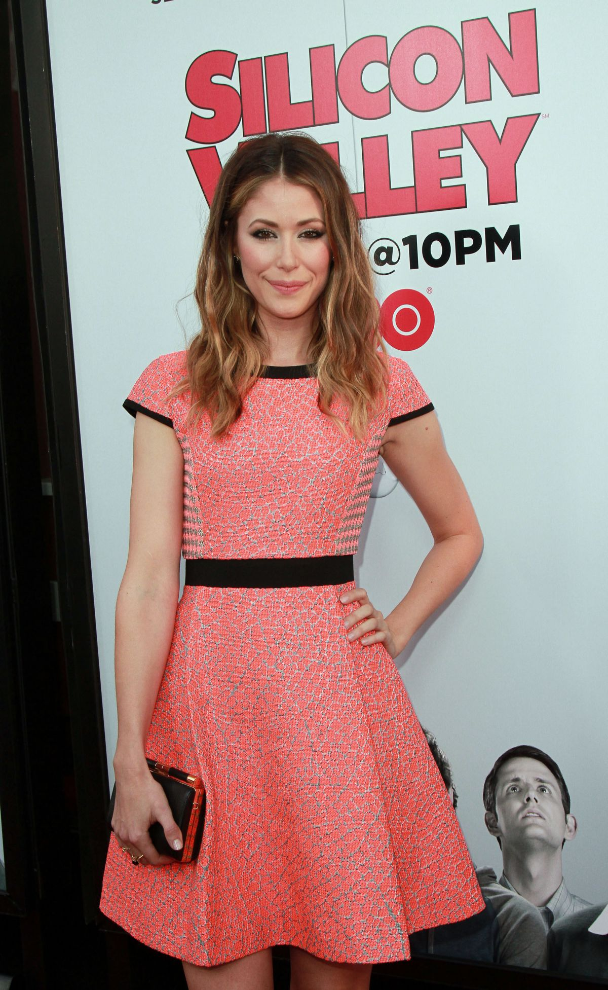AMANDA CREW at Silicon Valley Season 2 Premiere in Hollywood