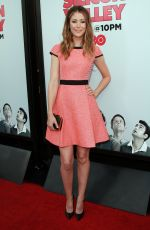 AMANDA CREW at Silicon Valley Season 2 Premiere in Hollywood