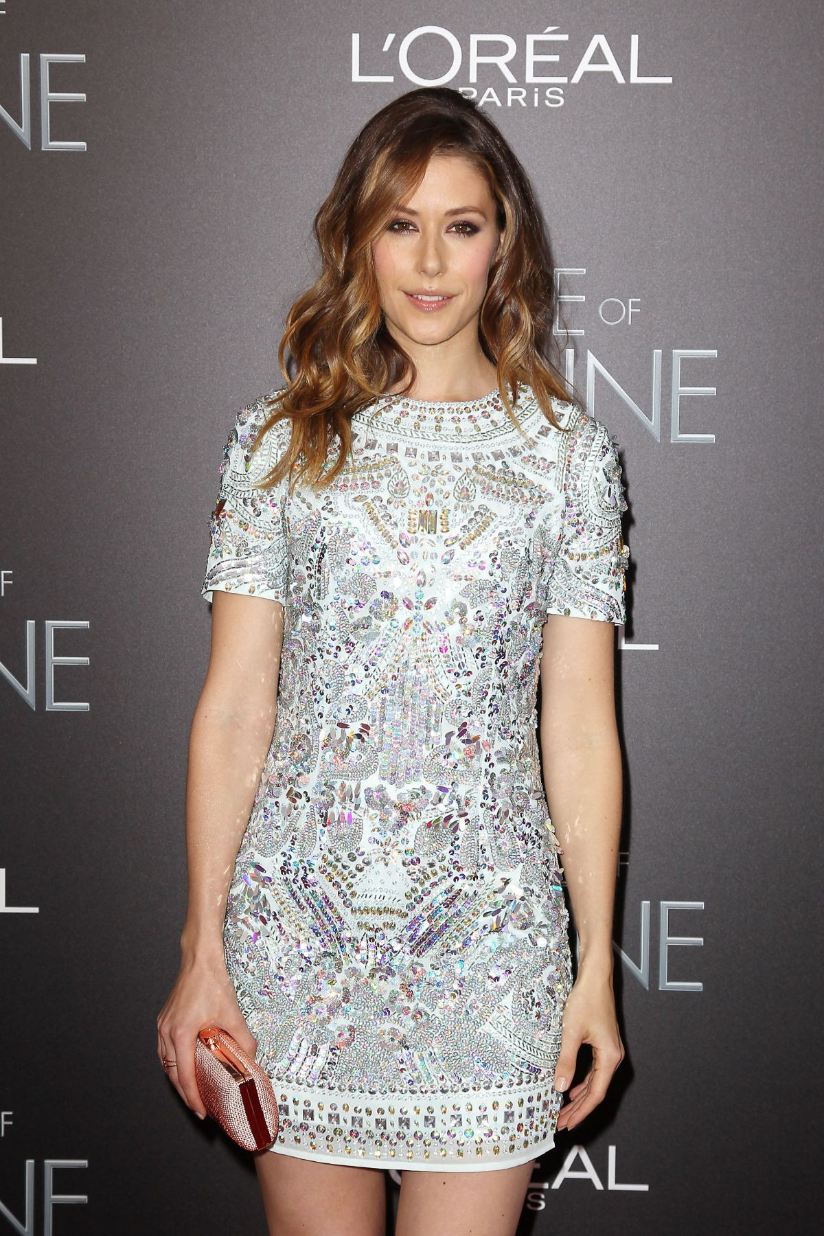 AMANDA CREW at The Age of Adaline Premiere in New York