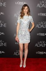 AMANDA CREW at The Age of Adaline Premiere in New York