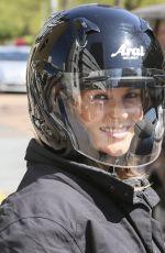 AMANDA HOLDEN Leaves ITV Studios in London 04/22/2015