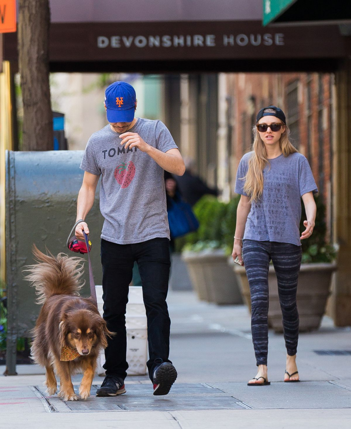 AMANDA SEYFRIED Out and About in New York 04/29/2015