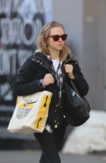 AMANDA SEYFRIED Out and About in New York