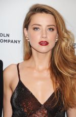 AMBER HEARD at When I Live My Life Over Again Premiere at TFF in New York