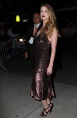 AMBER HEARD Night Out in New York 04/18/2015