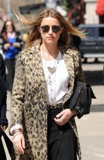 AMBER HEARD Out and About in New York