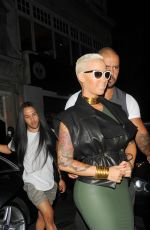 AMBER ROSE Out and About in London 04/21/2015