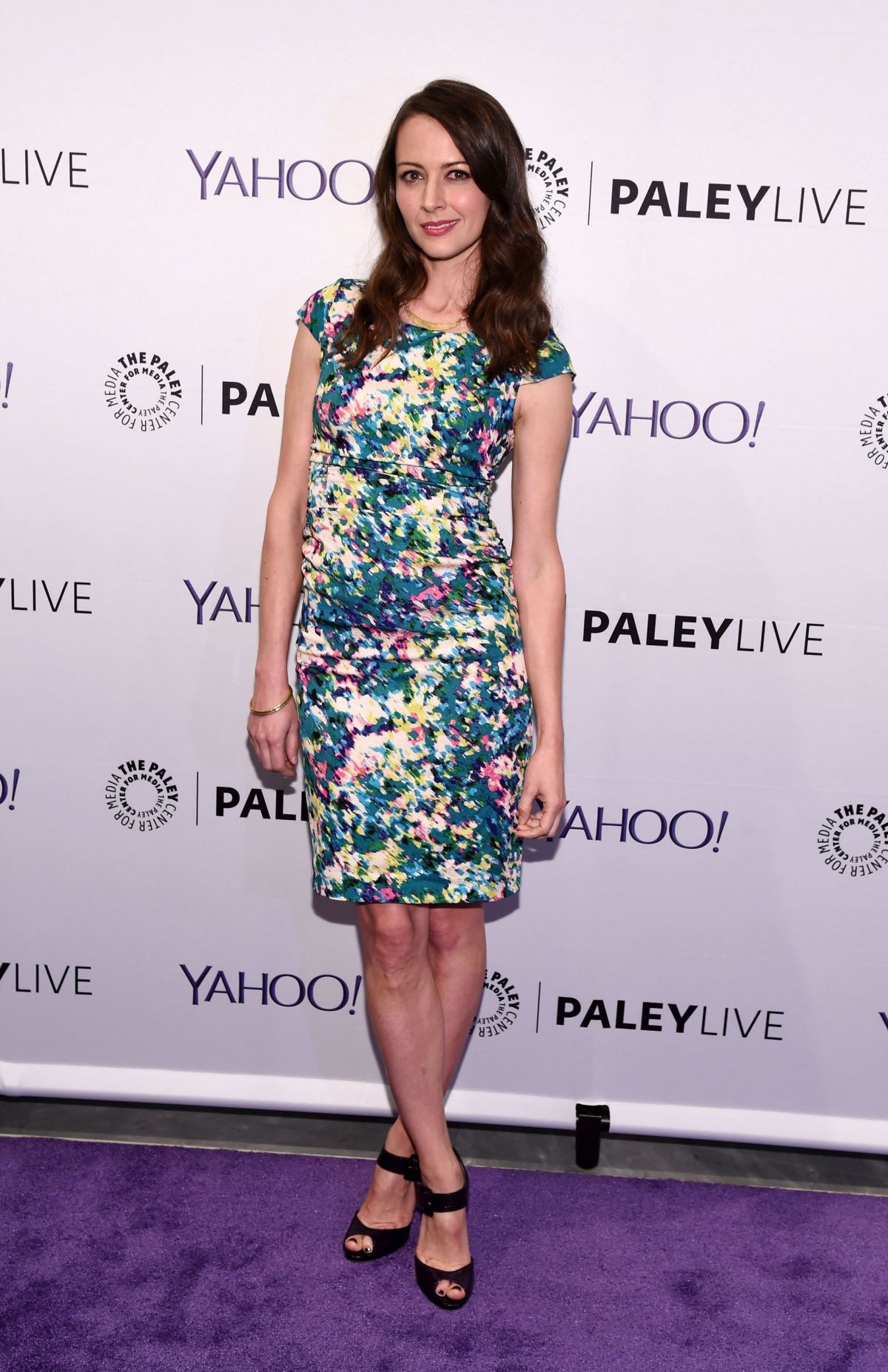 AMY ACKER at The Paley Center Person of Interest Event for Paleyfest in New York