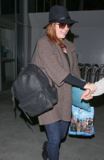 AMY ADAMS Arrives at LAX Airport in Los Angeles 04/28/2015