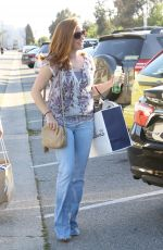 AMY ADAMS Out Shopping in Beverly Hills