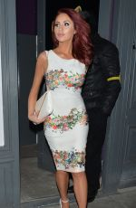 AMY CHILDS at Foxy Bingo Love Shop Pop-up Launch in London