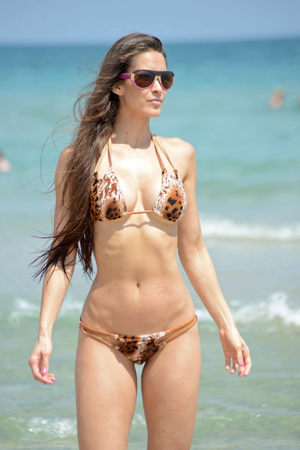 ANAIS ZANOTTI in Bikini on the Beach in Miami
