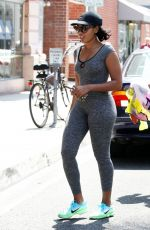 ANGELA SIMMONS Out for Juice in Beverly Hills