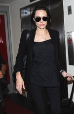 ANGELINA JOLIE at Los Angeles International Airport 04/25/2015