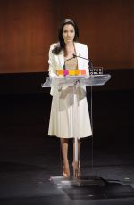 ANGELINA JOLIE at Women in the World Summit in New York