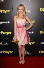 ANNA CAMP at Dial a Prayer Premiere in Los Angeles