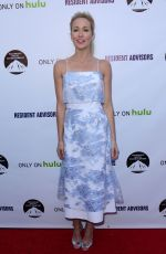 ANNA CAMP at Resident Advisors Premiere in Los Angeles
