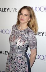 ANNA CHLUMSKY at Paley Center Hosts an Evening with Veep in New York