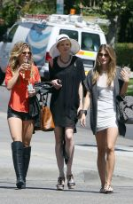 ANNALYNNE, ANGEL and RACHEL MCCORD Out in Los Angeles