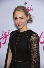 ANNASOPHIA ROBB at Gigi Broadway Opening Night in New York