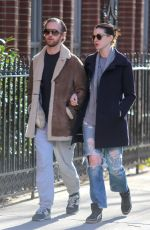 ANNE HATHAWAY and Adam Shulman Out and About in New York