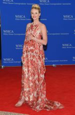 ANNE VYALITSYNA at White House Correspondents Association Dinner in Washington