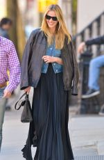 ANNE VYALITSYNA Out and About in New York 04/20/2015
