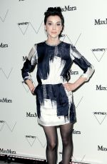 ANNIE CLARK at Whitney Museum of American Art Opening in New York